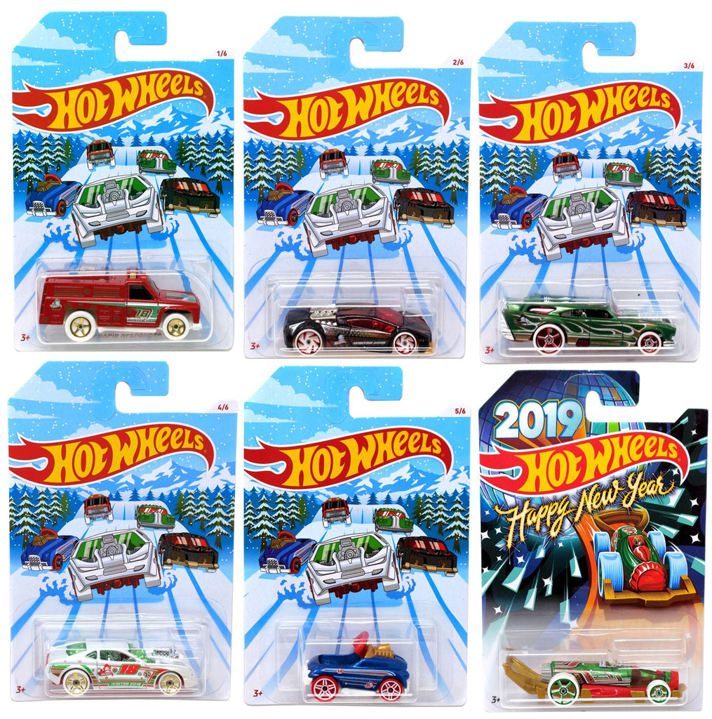 Hot Wheels 2018 Holiday Hot Rods