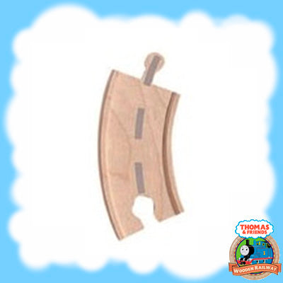 Thomas & Friends Wooden SMALL CURVED ROAD TRACK - LC99939