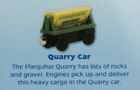 QUARRY CAR - NEW UNBOXED