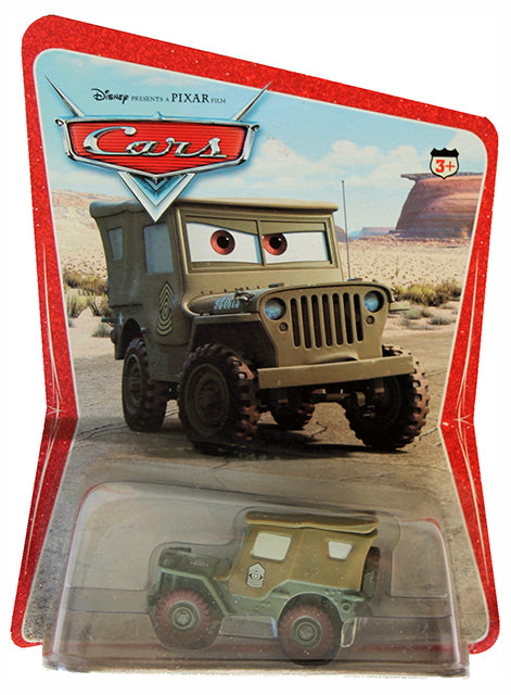 Disney PIXAR Cars - Diecast Vehicle - Original 2006 Series - SARGE