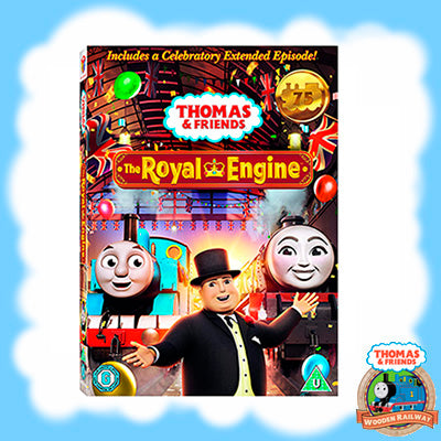 THE ROYAL ENGINE - DVD (2020)