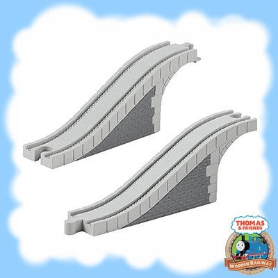 NEW BUT UNBOXED - ARCHED STONE BRIDGE