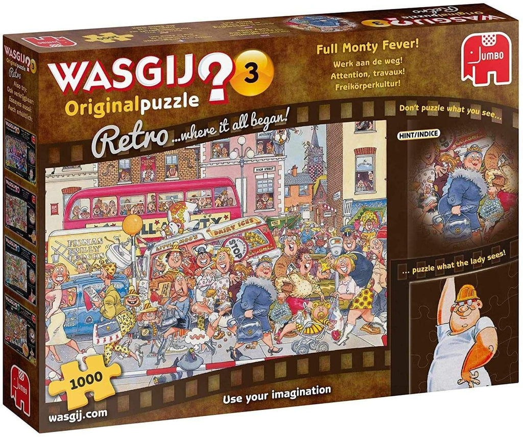 Wasgij Original 3: Full Monty Fever!