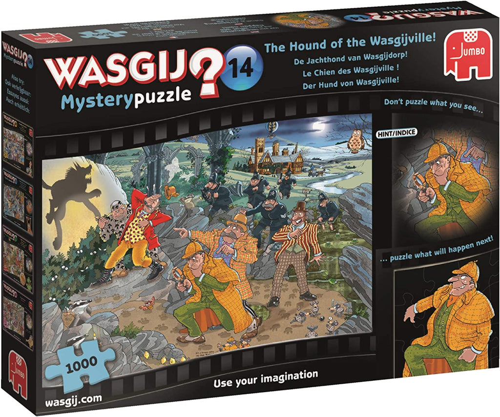 Wasgij Mystery 14: The Hound of the Wasgijville!