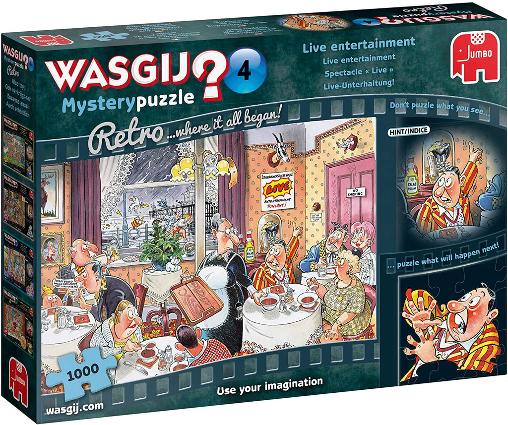 Wasgij Mystery 4: Live entertainment!