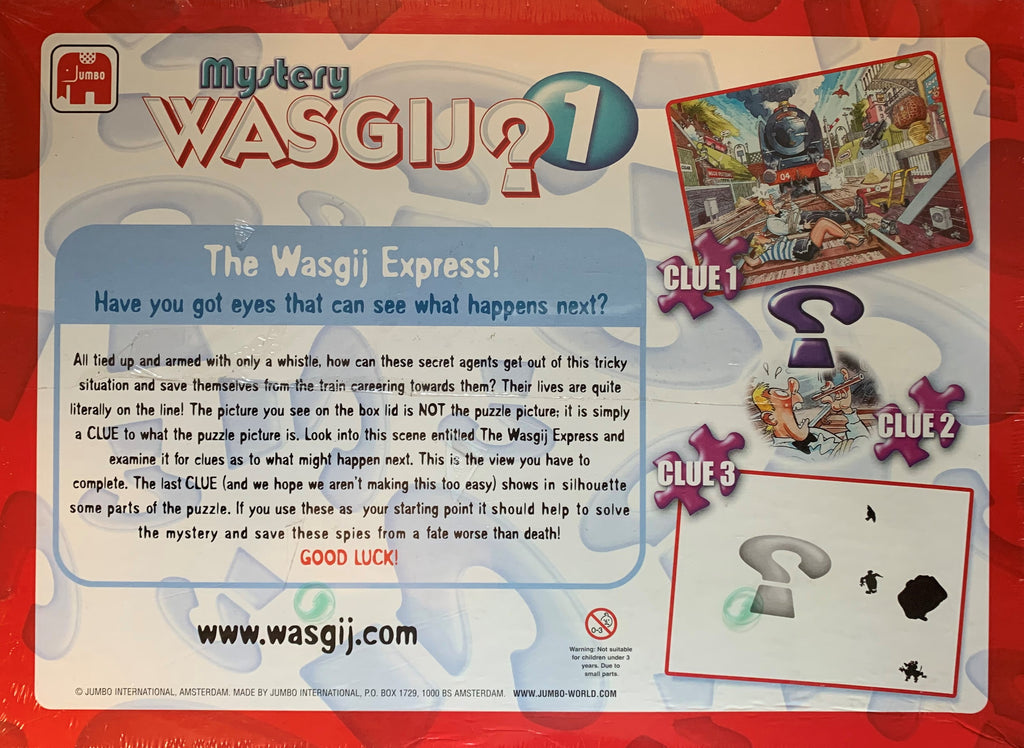 Wasgij Mystery 1: The Wasgij Express! (Original 2005) - Plus Free 54 Piece Puzzle