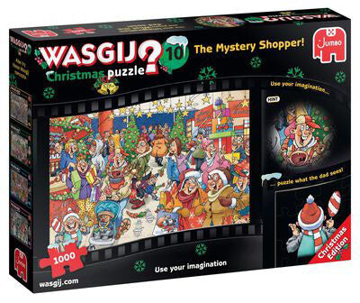 Wasgij Christmas 10: The Mystery Shopper!