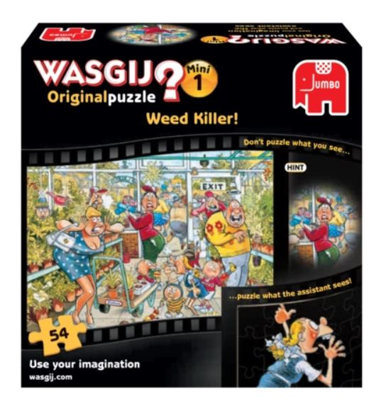 Wasgij Original 21: Football Fever! (Two Puzzles) - Plus Free 54 Piece Puzzle