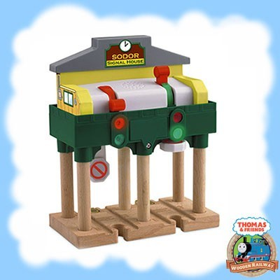 Thomas & Friends Wooden DELUXE OVER THE TRACK SIGNAL - Y4092