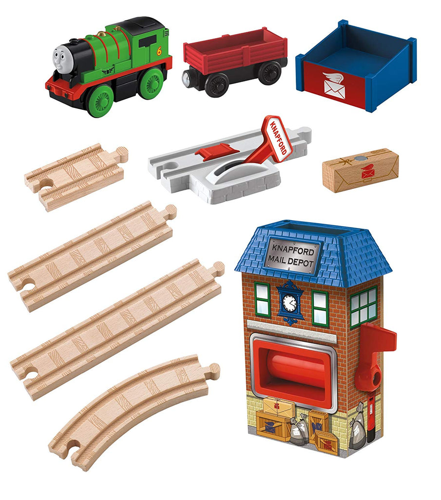 BATTERY OPERATED PERCY & THE MAIL STATION - Y4481