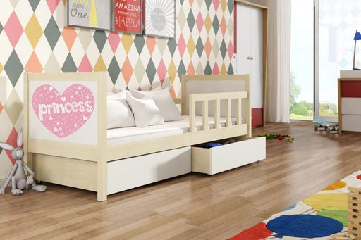 Pinki 1 children's bed