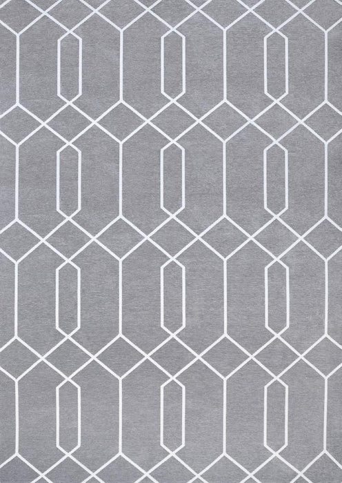 Marko Grey Easy Clean Rug