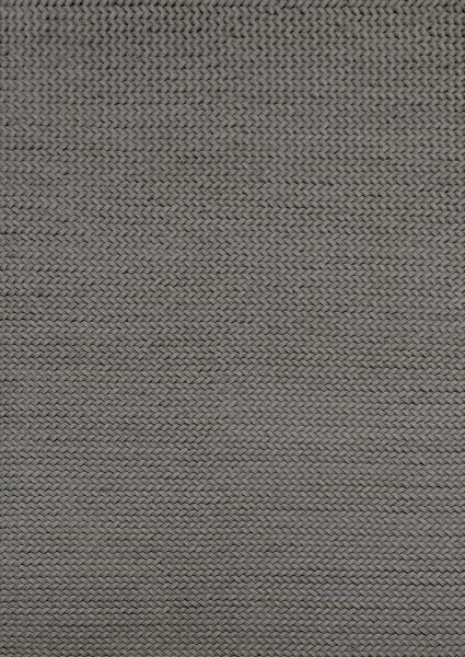 Sudo Dark Grey Handmade Rug