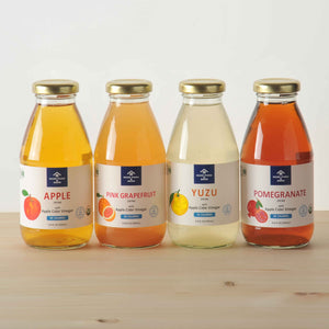 Fruit Vinegar Drink Non-Sugar 9.8 fl. oz. 4-FLAVOR SET