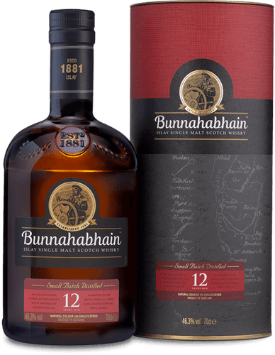 Bunnahabhain 12 Year Old  46.3% 70cl