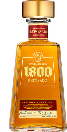 1800 Reposado Tequila 40% 75cl