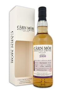 Carn Mor Strictly Limited Glen Garioch 2008 11 Year Old Bourbon 47.5% 70cl
