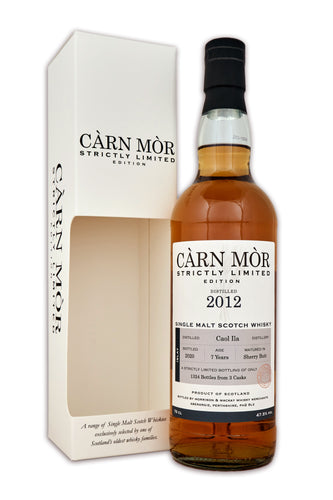 Carn Mor Strictly Limited Caol Ila 2012 7 Year Old Sherry Butt 47.5% 70cl