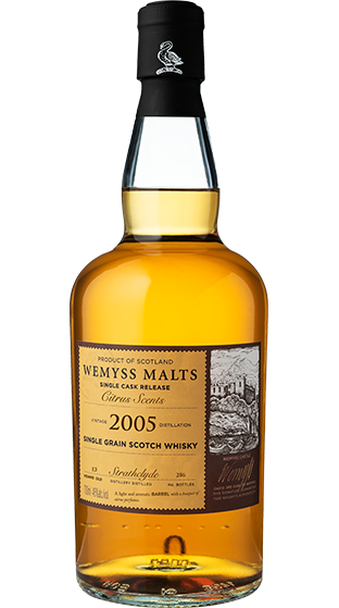Wemyss Single Cask Release Strathclyde 2006 13 Year Old Citrus Scents 46% 70cl