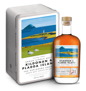 Arran Explorers Ltd Ed Vol3 Kildonan and Pladda Island  21 Year Old 50.4% 70cl