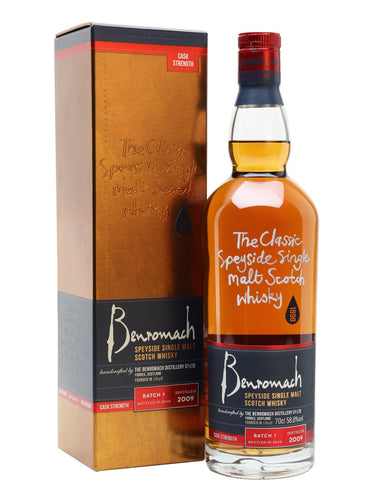 Benromach 2009 Cask Strength Batch 1 58.8% 70cl