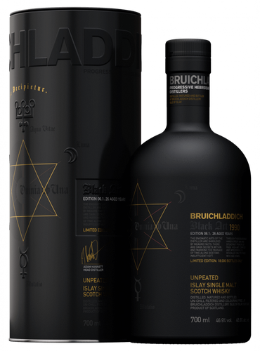 Bruichladdich Black Art 6, 26 Years Old 46.9% 70cl