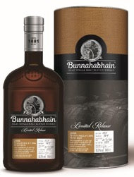 Bunnahabhain Ltd Ed 2008 11 Year Old Manzanilla Matured 52.3% 70cl