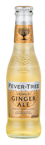 Fever Tree Ginger Ale 24x200ml