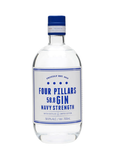 Four Pillars Navy Strength Gin 58.8% 50cl