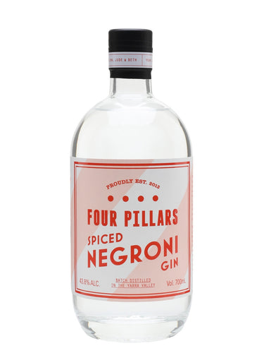 Four Pillars Spiced Negroni 43.8% 70cl