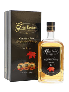 Glen Breton 10 Year Old 43% 75cl