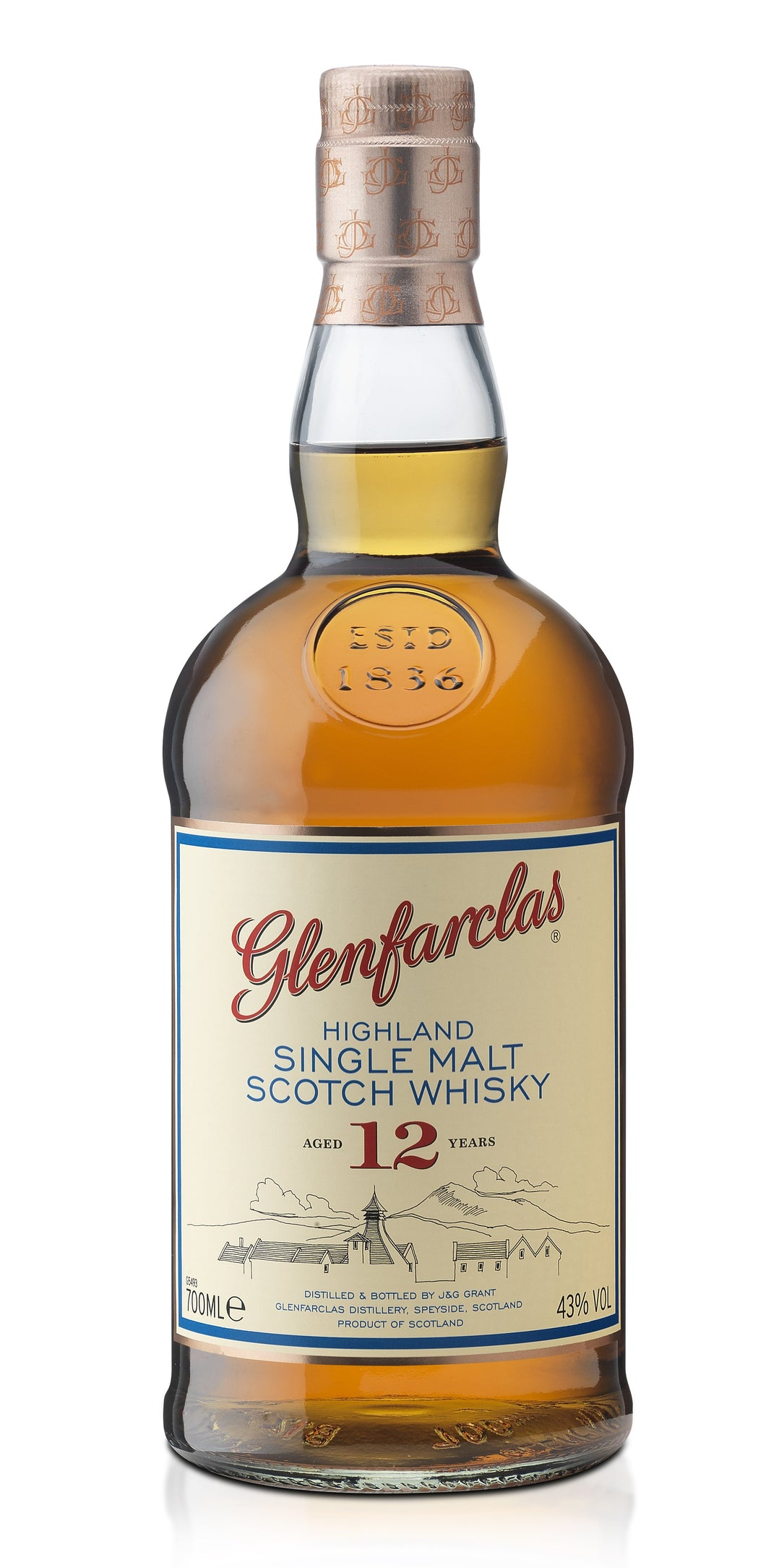 Glenfarclas 12 Year Old 43% 70cl