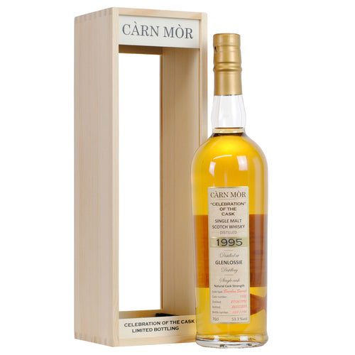 Carn Mor Celebration of the Cask Glenlossie 23 Year Old 1995 #1325 Bourbon 53.3% 70cl