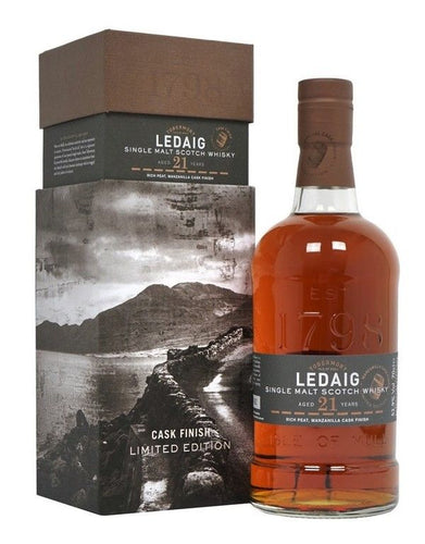 Ledaig 1997 21 Year Old Manzanilla Finish 52.9% 70cl