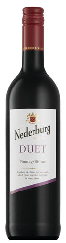 Nederburg Foundation Duet (Shiraz Pinotage) x 2 bottles