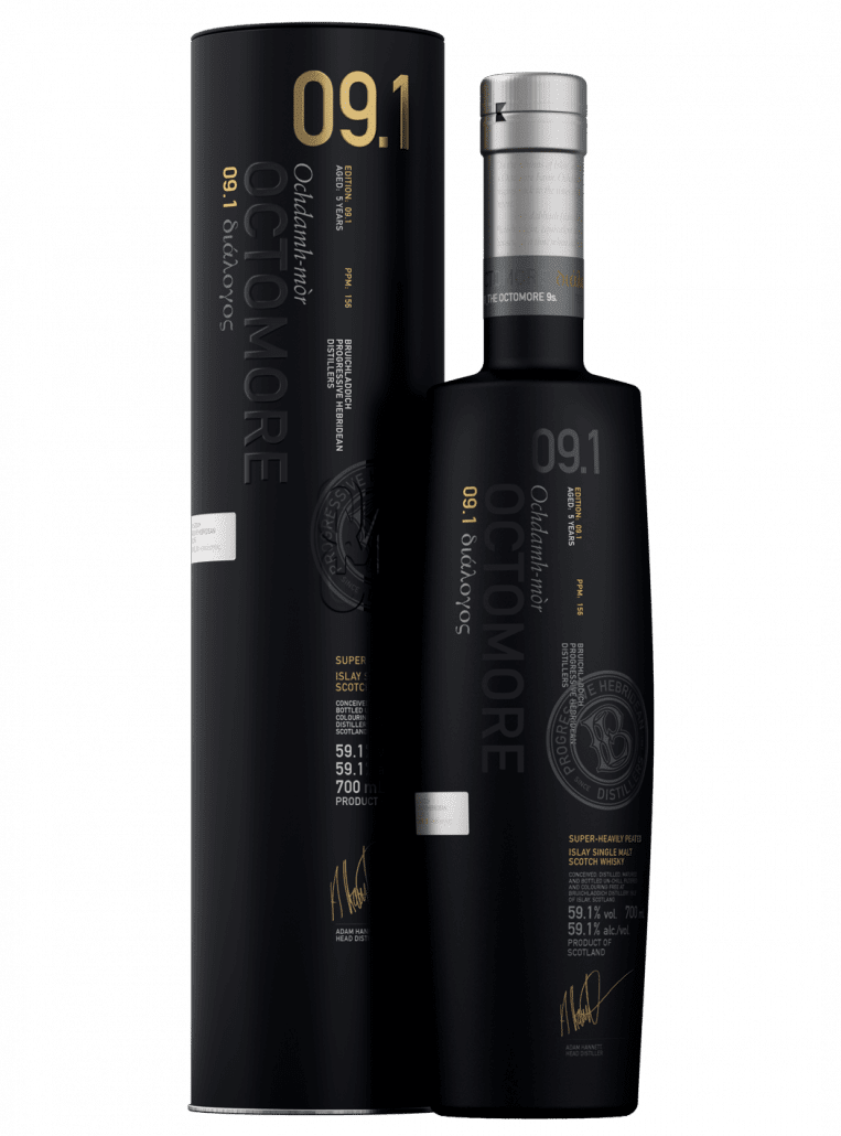 Octomore 9.1 Islay Barley 59.1% 70cl