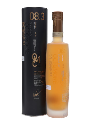 Octomore 8.3 Islay Barley 61.2% 70cl