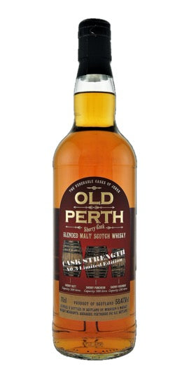 Old Perth Sherry Whisky Cask Strength No3 58.4% 70cl