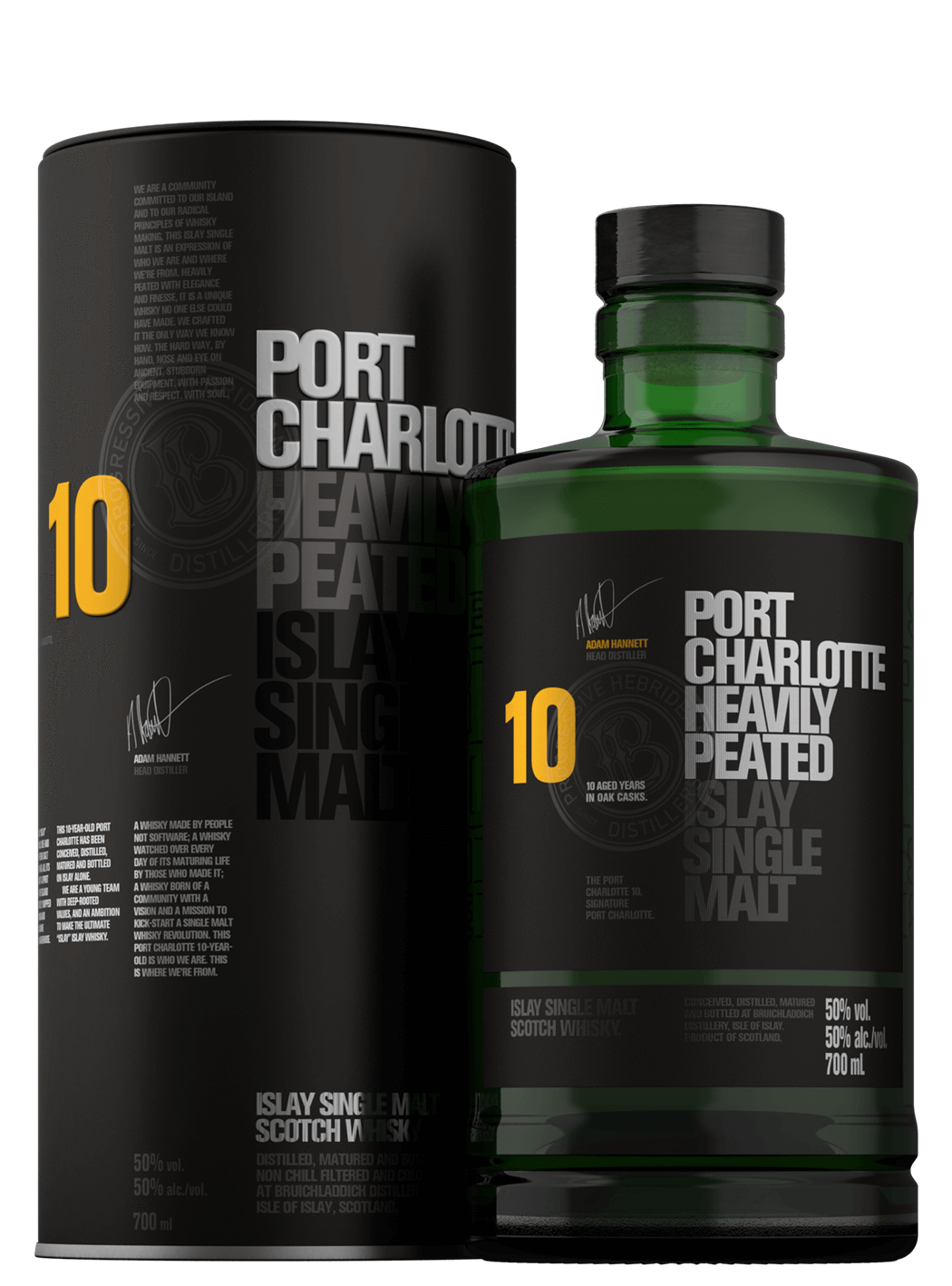 Port Charlotte 10 Year Old 50% 70cl