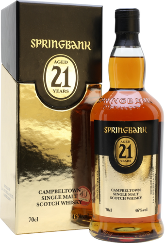 Springbank 21 Year Old 46% 70cl