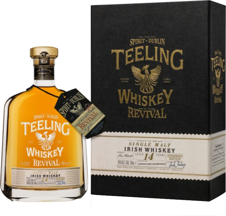 Teeling Revival Vol3, 14 Year Old, Pineau de Charentes Cask 46% 70cl