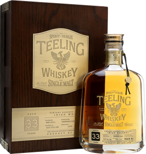 Teeling 33 Year Old 42.9% 70cl