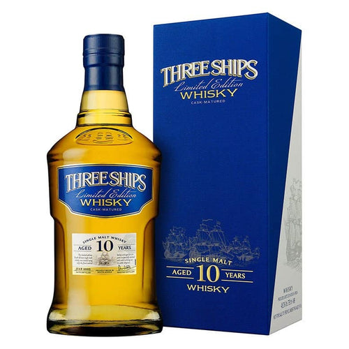 Three Ships 10 Year Old Single Malt 44.6% 70cl