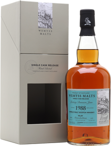 Wemyss Single Cask Release Bunnahabhain 30 Year Old Luxury Damson Jam 46% 70cl
