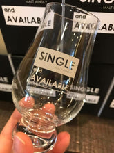 Load image into Gallery viewer, Single & Available Whisky Nosing Glass
