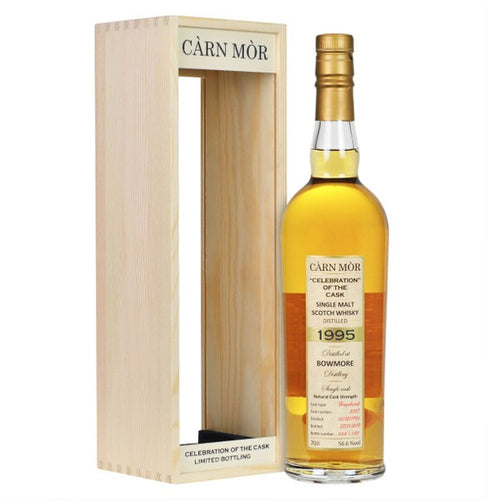 Carn Mor Celebration of the Cask Bowmore 1995 24 Year Old #2527 Hogshead 56.6% 70cl