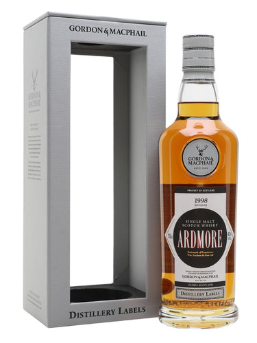 Gordon & Macphail Distillery Labels Ardmore 1998 20 Year Old 43% 70cl