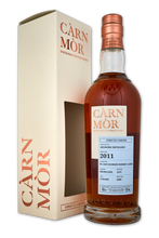 Load image into Gallery viewer, Carn Mor Strictly Limited Ardmore 2011 9 Year Old Oloroso & PX 47.5% 70cl