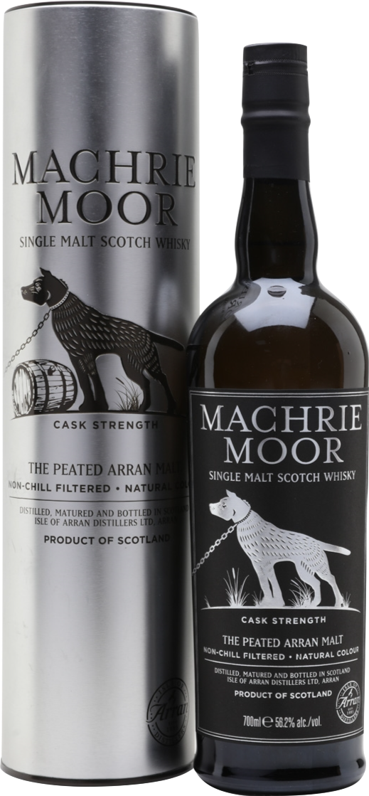 Arran Peated Machrie Moor Cask Strength 58.1% 70cl