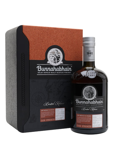 Bunnahabhain Moine Ltd Ed 1997 22 Year Old Pedro Ximinex Finish 50% 70cl